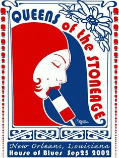 Queens of the Stone Age Popsicle classic poster by darrengrealish, $30.00