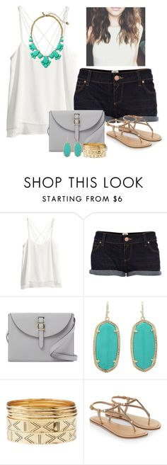 """""""The Locket"""" by stephanie-erin ❤ liked on Polyvore featuring H&M, River Island, Meli Melo, Kendra Scott, Charlotte Russe, Accessorize and Kate Spade"""