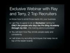 Ray Higdon's Pro Blog Academy Review and Bonus Offer