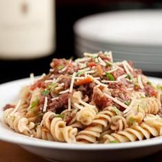 Recipe: Pasta Recipes / Sausage and Peppers Pasta - tableFEAST