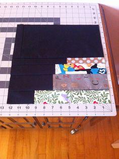 International Stashes: Jamie's Bookcase Quilt - August