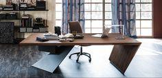 Cattelan – купить мебель итальянской фабрики Cattelan из Италии по низким ценам в PALISSANDRE.ru Home Office Design, Home Office Decor, Home Interior Design, Home Decor, Office Desk For Sale, Modern Office Desk, Small Office, Office Style, Office Ideas