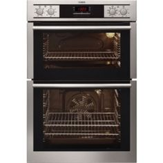 AEG DC4013001M Double Electric Oven, Stainless Steel