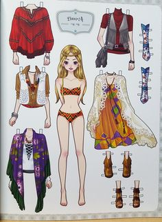 1 million+ Stunning Free Images to Use Anywhere Paper Dolls Clothing, Barbie Paper Dolls, Vintage Paper Dolls, Paper Doll Template, Paper Dolls Printable, Homemade Journal, Paper Art, Paper Crafts, Lol Dolls