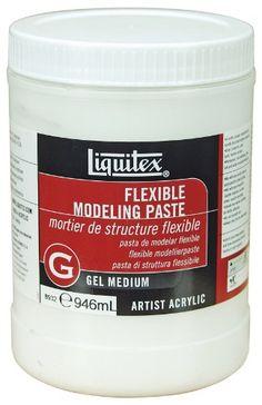 Liquitex Professional Flexible Modeling Paste Medium, 32-oz Liquitex,http://www.amazon.com/dp/B001US4S1I/ref=cm_sw_r_pi_dp_4pT6sb0A6MHDKR3M