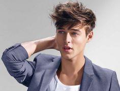 coiffure tendance homme - le style coiffé-décoiffé à adopter