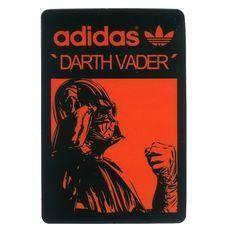 #1640 Darth Vader Star Wars adidas Originals, Height 7 cm decal sticker…