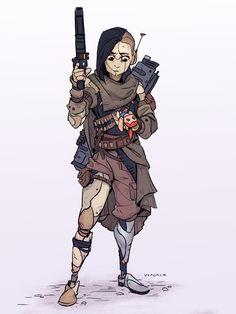 ArtStation - Android Character, Vanessa Palmer