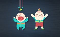 The baby guide on Behance