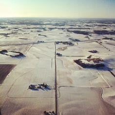 Wintery Wisconsin.