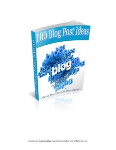 #ClippedOnIssuu from 100 Blog Post ideas never run out of ideas again