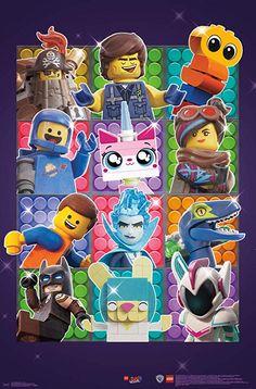 Plakat The Lego Movie 2 - MalecToys. Lego Film, Batman Em Lego, Batman Art, Lego Ninjago Movie, Lego Movie 2, Legos, Lego Christmas Village, Aarmau Fanart, Mike Mitchell