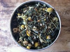 Uplifting: An Herbal Loose Leaf Tea...battle the blues with this lovely tea.