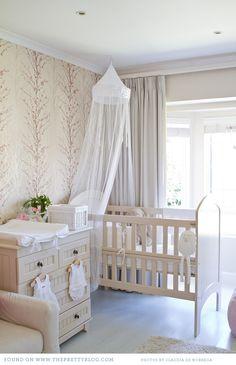 Baby Mia's Bunny and Blossom themed Nursery/Fawn Over Baby