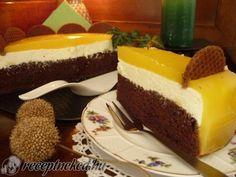Fanta torta recept   Receptneked.hu ( Korábban olcso-receptek.hu) Cheesecake, Goodies, Food, Cakes, Drink, Cheesecake Cake, Sweet Like Candy, Treats, Cheesecakes