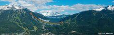 Can't wait to try The Sasquatch- Canada's longest zipline at Ziptrek Ecotours Inc
