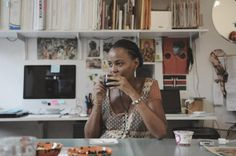 How do women jungle motherhood and art? Photographer and author Qiana Mestrich asked 12 artist moms to find the answer. Contemporary Art Artists, Artist Project, First Language, Feminist Art, Mixed Media Artists, Work From Home Moms, Art Studios, Parenting, Author