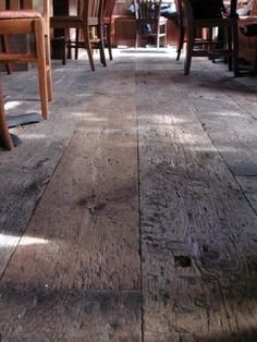 Antique Barn Threshing Flooring is one of the most rustic and dramatic reclaimed floors that we offer. This one-of-a-kind rustic wide plank wood flooring is reclaimed from 150-200 year old threshing barns.