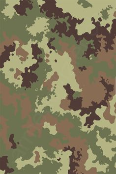 Italy - Italien Vegetato Camo Pattern - by armeeoffizier. Graphic Patterns, Print Patterns, Camo Wallpaper, Camouflage Patterns, Military Camouflage, Woodland Camo, Army & Navy, Textures Patterns, Printing On Fabric