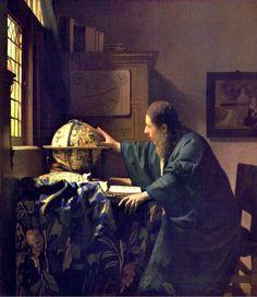 Vermeer van Delft, Johannes (b,1632)- Astronomer