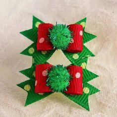 Items similar to Christmas Sparkle Dot Maltese pair on Etsy Dog Christmas Stocking, Christmas Ribbon, Christmas Stockings, Christmas Diy, Christmas Decorations, Xmas, Malteser, Baby Hair Clips, Maltese Dogs