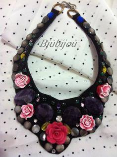 Collana fiore ''Rosa''