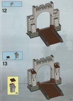 Lego Duplo, Lego Robot, Lego Batman, Lego Friends, Lego Castle Instructions, Lego Chevalier, Legos, Lego Vintage, Chateau Lego