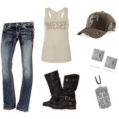 jeans*, tank* (http://www.ebay.com/itm/Diesel-Shirt-T-Easy-J-Tank-Top-Designer-White-Women-New-/300662344217)