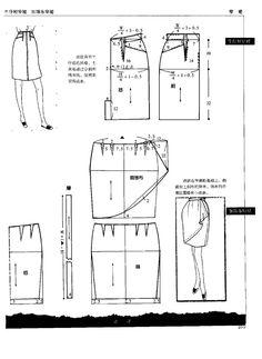 各种裙子裁剪图 - 紫苏 - 紫苏的博客