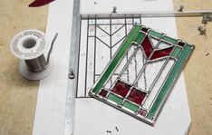 As the holidays are approaching it seems like a perfect time to experiment with a stained glass new project. I've decided to try a three-dimensional piece. I'm going to make a small candle lantern for the Christmas season. Every Christmas time I think Candle Lanterns, Glass Candle, Small Candles, Stained Glass Windows, Three Dimensional, Christmas Time, Workshop, Experiment, Projects