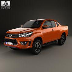 Toyota Hilux Double Cab Revo TRD Sportivo 2016 form Hum3d.com.