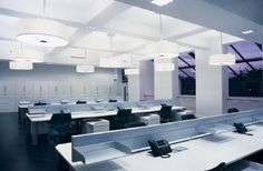 Go Ahead Call Centre Offices, Merton London - High Technology Lighting Design