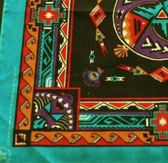 Southwest Print Bandana New  $4.00 + Free Shipping   http://www.bonanza.com/listings/Southwest-Print-Bandana-New/103595769
