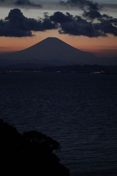 Sunset of Mt.Fuji
