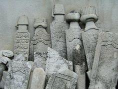 Makedonya, Ohrid'de tahrip edilen Osmanlı mezar taşları