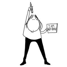 Charlie Hebdo: les illustrateurs du monde entier rendent hommage au journal - ELLE