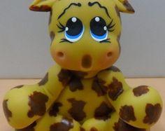 Girafa topo de bolo