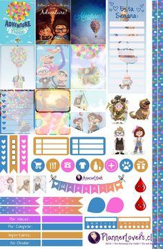 Liloandstitch - Stickers Imprimibles by AnacarLilian on DeviantArt Disney Planner, To Do Planner, Free Planner, Happy Planner, Planner Ideas, Disney Up, Planner Supplies, Printable Planner Stickers, Hello Kitty