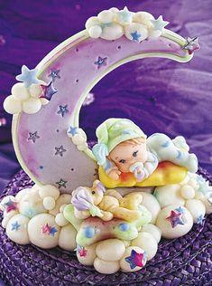 Adorno dulces sueños - Porcelana Fría