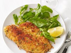 Breaded Tilapia packs a punch of flavor when it's first seared in olive oil and then baked.