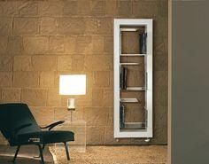 moderne Heizkörper -edelstahl-wohnzimmer-buecherregal-BOXES-DELTACALOR
