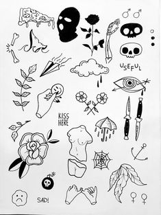 Thank you everyone that participated in my flash tattoo sale and helped me to promote and celebrate the new flash sheets! Flash Art Tattoos, Tattoo Flash Sheet, Body Art Tattoos, Arabic Tattoos, Mini Tattoos, Cute Tattoos, Unique Tattoos, Small Tattoos, Tattoos For Guys