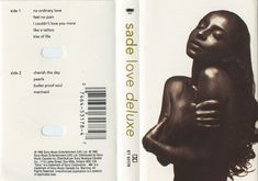 Sade - love deluxe (1992) Best Albums, After School, Love, Amor, Romances