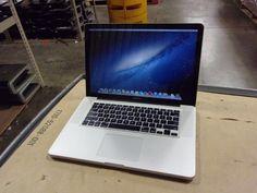 Macbook Pro 15 inch Intel Core i7 mid 2012 2.3GHz CPU 500GB HDD 8 GB DVDRW NO AC