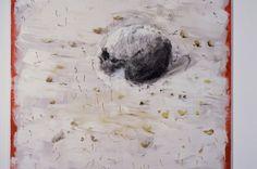 Miquel Barceló, Crâne aux Allumettes (Totenschädel auf Streichhölzern), 2006, Mischtechnik auf Leinwand, 200 x 200 cm, Privatbesitz © Courtesy Miquel Barceló