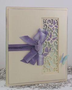 butterfly panel card by John Lockwood