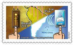 Emissão Mercosul: Internet – Redes Integradoras Artista: Botteon Data: 17 de maio de 2013