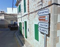 In the town of Santanyi...Mallorca. Baleares