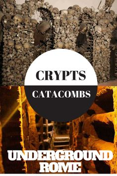 There's so much history in Rome that lies beneath the surface! Go underground on a tour of the Crypts and Catacombs. Read more: http://justinpluslauren.com/underground-tour-of-rome/