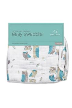 aden-+-anais-Blue-Wise-Guys-Organic-Easy-Swaddle